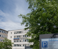 View of the Steinmüller Engineering GmbH building in Gummersbach. Photo: Florian Mayer